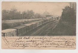 Czestochowa.Railway station.