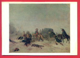155473 / UNKNOWN ARTIST - EPISODE EXCEPTIONS FROM RUSSIA Napoleon Army In 1844 , DEAD HORSE - Russia Russie Russland - Pittura & Quadri