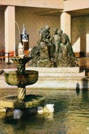 Thematiques 62 Pas De Calais Berck Plage Fontaine Jet D'eau Statue Marianne Toute Seule Ecrite Timbrée 11 08 1976 - Berck