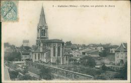 69 CALUIRE ET CUIRE / L'Eglise Et Vue Générale / - Caluire Et Cuire