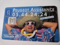 RARE :  PEUGEOT ASSISTANCE SC7   !!! - France