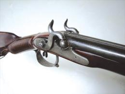 Fusil de chasse juxtapos� du XVIIIe si�cle