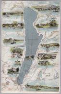 AK MOTIV LANDKARTE Stambergersee 1902-11-09 Stamberg Nach Schlitz - Cartes Géographiques