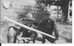 YMCA Soldats Us Army Doughboys Posant Pour La Propagande Us Pour Les War Bonds Bons D'armement 1 Photo 14-18 Ww1 WwI Wk - War, Military