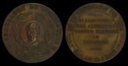 M01786 HOMENAGEM Do DERBY CLUB - GRANDE PREMIO ALBERT I  RIO DE JANEIRO 1920 Brésil (71.5g) - Royal / Of Nobility