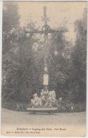 23269g INGANG DER GROT - HET KRUIS - Edeghem - 1909 - Edegem
