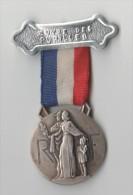 MEDAILLE OEUVRE DES PUPILLES DES SAPEURS POMPIERS FRANCAIS 1938, Graveur R PELLETIER