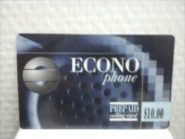 Econo Phone 10 $ with sticker 0800 10412 Bank See 2 Photo�s Used Rare