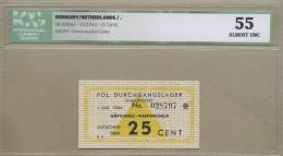 Netherlands - Amersfoort (Germany)  25 Cent  WWII  C.  AU  !!!!!!!!!!!!!!!  ( Banknotes ) - Billets