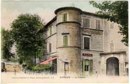 Anduze - Le Château ( édition Puget ) - Anduze