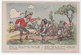 RADIGUET - Enfants Jouant A La Guerre - Crois Rouge... (73313) - Illustrateurs & Photographes