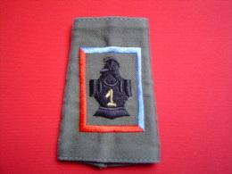 PASSANT D´EPAULE 1°RG / 1° REGIMENT  DE GENIE / 23° CIE - Patches