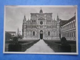 ITALIE - MILANO Certosa Di Pamia , écrite Au Verso Et Circulée En 1932 , 2 Scans - Monuments