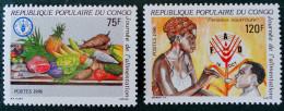 JOURNEE DE L'ALIMENTATION 1986 - NEUFS ** - YT 787/88 - MI 1049/50 - Ungebraucht