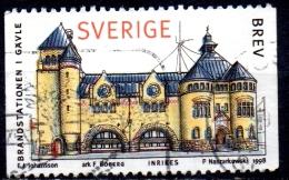 SWEDEN 1998 Traditional Buildings. Town Houses - (5k) Fire Station, Gavle FU - Sweden
