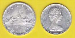 Canada  One Dollar 1965   Canoa - Canada