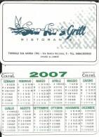 CAL600 - CALENDARIETTO 2007 - SURFER'S GRILL - RIVA DEL GARDA