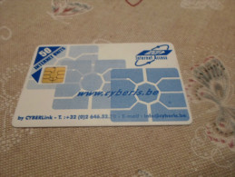 BELGIUM - RARE internet card with chip 50U - HARD TO FIND