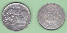 Belgio 100 Francs 1951 Belgique Belgium - 1945-1951: Regency