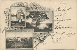 Liberia Pionniere Multi View Monrovia St Pauls River Coffee Farm   German Sea Post 1905 - Liberia