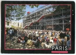 Paris - Le Centre Georges Pompidou - Image´In 2008 - Utilisée Pour Concours - 2 Scans - Autres Monuments, édifices
