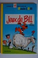 BD BOULE ET BILL - 11 - Jeux De Bill - BE - Rééd. 1979 - Boule Et Bill