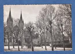 CPSM - ARCACHON - Ecole Saint Elme - Ecoliers Dans La Cour - Chapelle - Arcachon