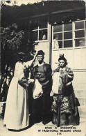 Pays Div-asie -chine - China  -ref D203- Bride And Bridegroom - In Traditional Wedding Dr - Postcard In Good Condition - - Chine