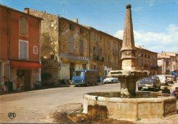 34 -  LE POUGET - RUE PLACE - FONTAINE - COMMERCES DONT PUBLICITE BANANIA ET PRIMAGAZ - France