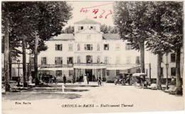 Gréoux Les Bains - Etablissement Thermal (édition Baille) - France
