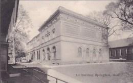 Massachusetts Springfield Art Building