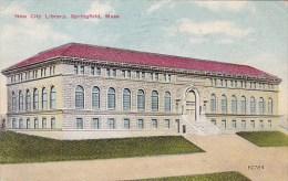 Massachusetts Springfield New City Library 1910