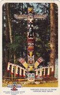 Indiens Amérique De Nord - Thunderbird Totem Pole - Capilano Suspension Bridge Vancouver - Indiens De L'Amerique Du Nord