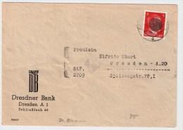 SBZ, 1945, Sächsische Schwärzung , Geprüft ,  S166 - Sowjetische Zone (SBZ)