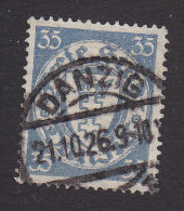 Danzig, Scott #183a, Used, Coat Of Arms, Issued 1924 - Danzig
