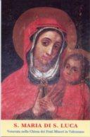 Valenzano BA - Santino S. MARIA DI SAN LUCA, Chiesa Dei Frati Minori - PERFETTO G92 - Religione & Esoterismo