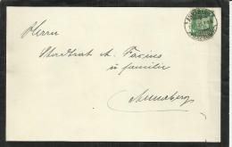 ALEMANIA CC ANNABERG 1925 CARTA DE LUTO CON CONTENIDO - Deutschland