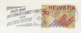 1969 SWITZERLAND COVER SLOGAN Pmk RED CROSS  COMMITTEE Stamps - Switzerland
