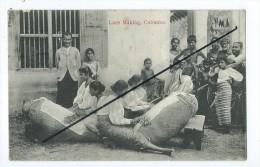 CPA-  Lace Making,Colombo - Sri Lanka (Ceylon)