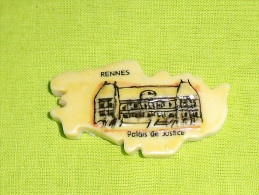 """feves:pays/r�gions """" Puzzle, Rennes, palais de justice """"  tiroir 8"""