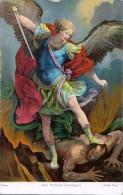 AK ENGEL ANGEL SAN MICHELE ARCANGELO  ROMA GUIDO RENI, DEPOSE AG.M. Nr.1005. ALTE POSTKARTE 1923 - Anges