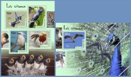tg14502ab Togo 2014 Birds 2 s/s