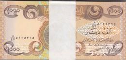 IRAQ 1000 DINARS 2003 P-93 FULL UNC BUNDLE 100 UNC NOTES */*