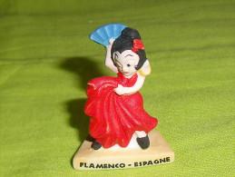 "feves:pays/r�gion "" Flamenco, Espagne "" mat  ( tiroir 10 )"