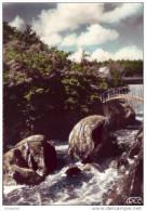 87 - saint-junien - bords de la glane - passerelle du gue giraud (1963)