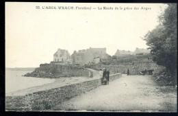 Cpa Du 29 L´ Aber Wrach  , La Route De La Grève Des Anges  ......  Landeda Lannilis Plouguerneau  JUIA5 - Plouguerneau