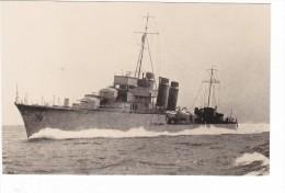bateau batiment militaire contre torpilleur La palme  sign�e Maurice lucas type V