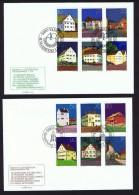 1978   Bâtiments Anciens   Michel  694-705   FDC Non Adressés - FDC