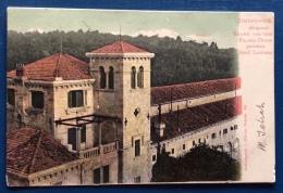 RAGUSA - DUBROVNIK - KLOSTER VON DEM FANNEN-THURMGESEHEN INSEL LACROMA - VIAGGIATA A BOLOGNA 1900 - Croazia