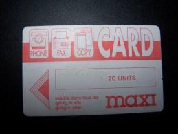 Phone-Fax-Copy Card Maxi  Ongebruikt